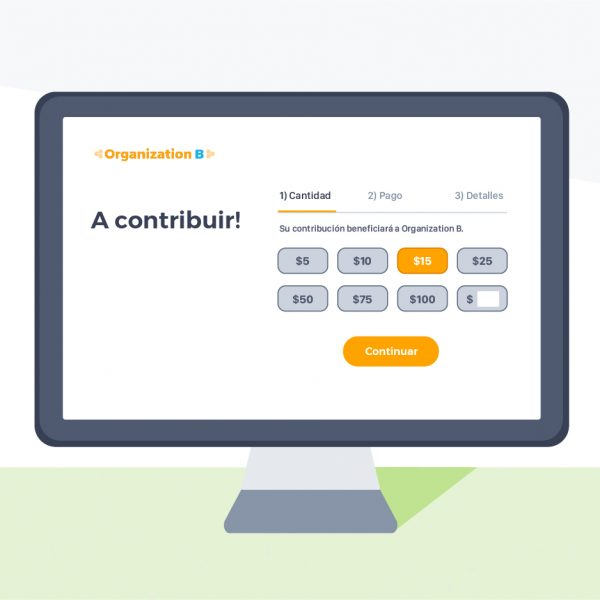 Make online giving more accessible with Spanish contribution forms!