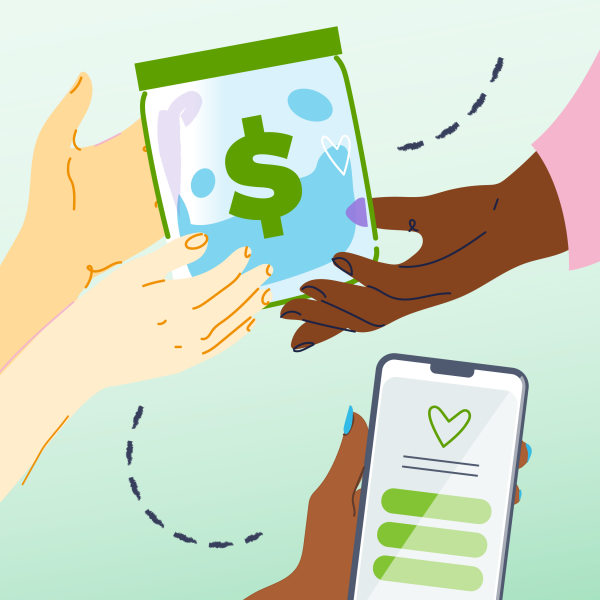 Building momentum with peer-to-peer fundraising