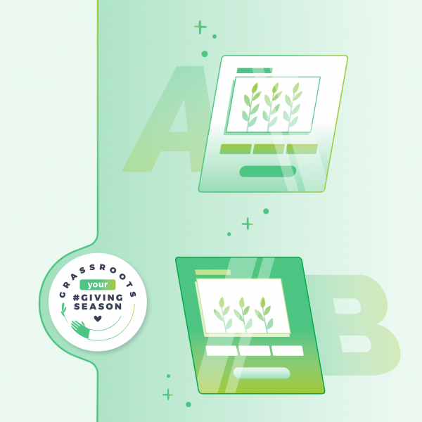 A/B testing for a more successful giving season!